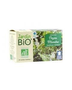 Jardin Bio Infusion Thym/menthe Bio 30g