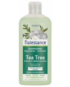 Natessance Shampooing Equilibrant Purifiant Tea Tree 250ml