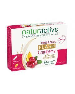 Naturactive Urisanol Flash 10 Gélules + 10 Capsules