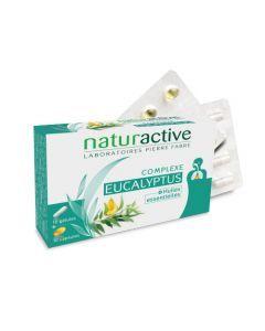 Naturactive Complexe Eucalyptus & Huiles Essentielles 10 Gélules + 10 Capsules