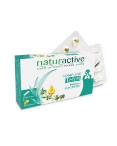 Naturactive Complexe Thym & Huiles Essentielles 10 Gélules + 10 Capsules