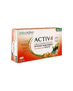 Naturactive Activ 4 Adultes 28 Gélules