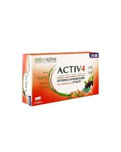Naturactive Activ 4 Séniors 28 Gélules