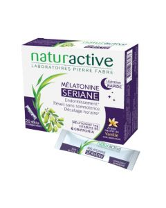 Naturactive Seriane Mélatonine 20 Sticks
