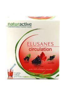 Naturactive Elusanes Circulation 15 Sticks à Diluer