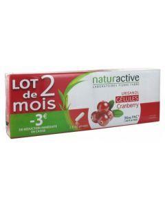 Naturactive Urisanol Cranberry Lot de 2 x 30 Gélules