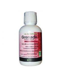 Santé Verte Jus de Grenade Sauvage 100% Pur Concentré Bouteille 473ml