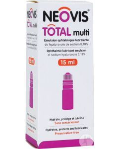 Neovis Total Émulsion Ophtalmique Lubrifiante 15ml