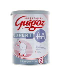 Guigoz Expert Oméga 3 Lait 2ème Âge HA 800g