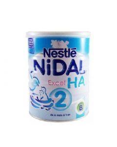 Nestle Nidal Excel Ha 2eme Age Lait Poudre 800g