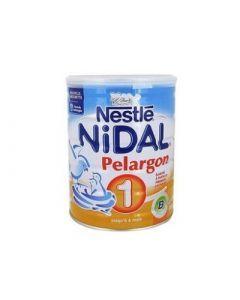 Nestlé Nidal Pélargon 1 Lait Poudre 1er Âge 800g
