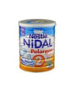 Nestlé Nidal Pélargon 2 Lait Poudre 2ème Âge 800g