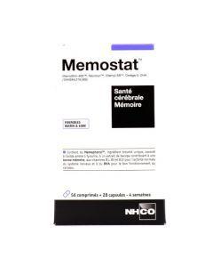 NhC Memostat Santé Cérébrale Mémoire 56 comprimés + 28 capsules
