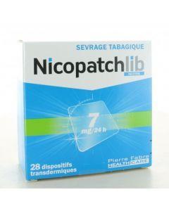 NICOPATCHLIB 7mg/24h 28 patchs dispositifs transdermiques