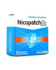 NICOPATCHLIB 14mg/24h 28 patchs dispositifs transdermiques