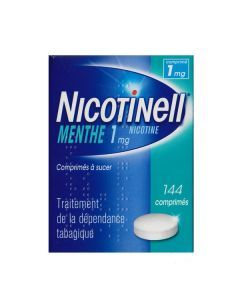 Nicotinell menthe 1 mg