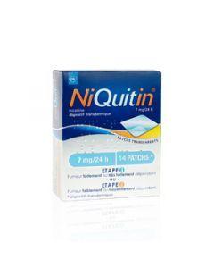 Niquitin dispositif transdermique 7mg/24 heures