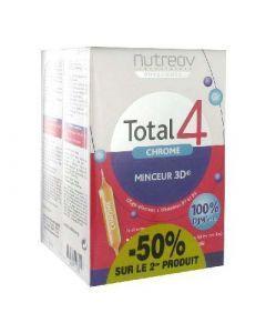Nutreov Total 4 Chrome Minceur 3d Lot de 2 X 30 Ampoules