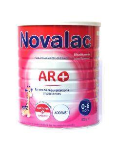 Novalac AR+ 0-6 Mois Lait 1er Âge Pot 800g