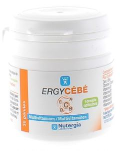 Nutergia ErgyCébé 30 capsules