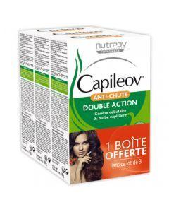 Capileov Anti-Chute 3 boites de 30 gélules
