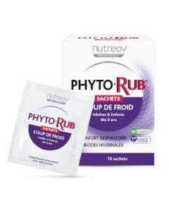 Nutreov Physcience Phytorub Junior & Adulte Boite 10 Sachets