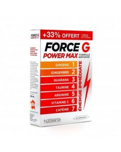 Force G Power Max Formule Renforcée 20 Ampoules