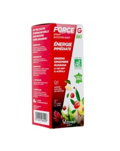 Force G Spray Booster Shot Bio Energie Immédiate 15ml