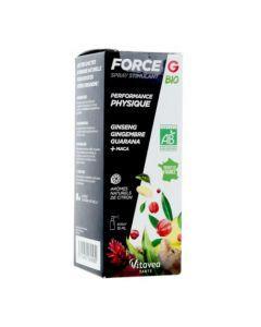Force G Spray Stimulant Bio Performance Physique 15ml