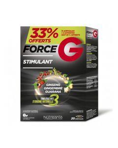 Nutrisanté Force G Stimulant 33% Offert 20 Ampoules