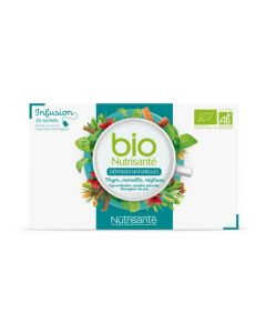 Nutrisanté Infusion Defenses Naturelles Bio 20 sachets