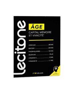 Lecitone Âge Capital Mémoire et Vivacité 30 Gélules