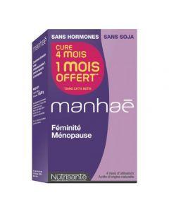 Manhae Pré-ménopause, ménopause 120 capsules dont 1 mois offert