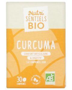 Nutrisanté Nutri'Sentiels Bio Curcuma 30 Comprimés