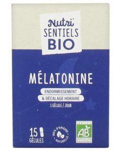 Nutrisanté Nutri'Sentiels Bio Mélatonine 15 Gélules