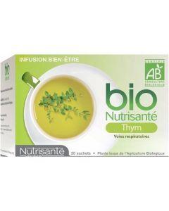 Nutrisanté Infusion Bio Thym 24 Sachets