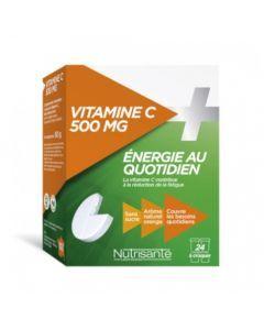 Nutrisanté Vitamine C 500mg à Croquer 2x12 comprimés