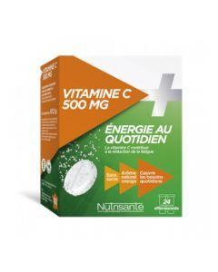Nutrisanté Vitamine C 500mg Effervescent 2x12 comprimés