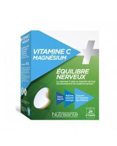 Nutrisanté Vitamine C + Magnesium 2x12 comprimés