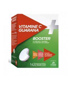Nutrisanté Vitamine C + Guarana 2x12 comprimés