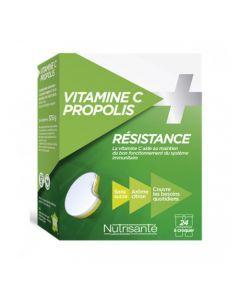 Nutrisanté Vitamine C + Propolis 2x12 comprimés