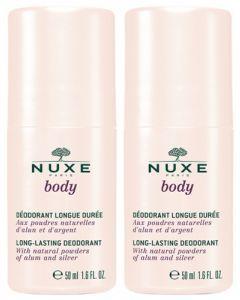 Nuxe Body Déodorant Longue Durée Lot de 2 x 50ml