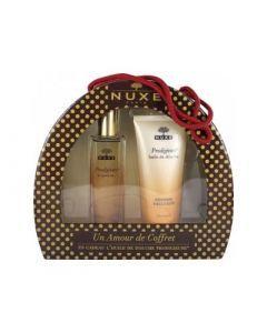 Nuxe Un Amour de Coffret Prodigieux Le Parfum 50ml + Huile de Douche 100 ml Offerte