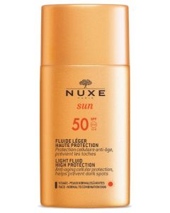 Nuxe Sun Fluide Léger Haute Protection SPF 50 50ml