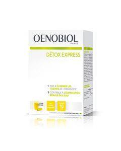 Oenobiol Detox Express Citron Gingembre 10 Sticks