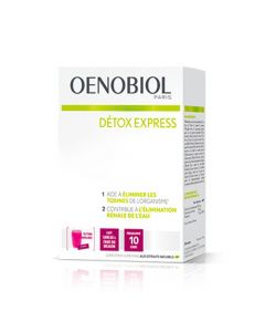 Oenobiol Détox Express Sureau - Fruit du Dragon 10 Sticks