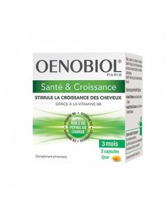 Oenobiol Capillaire Santé & Croissance 180 Capsules