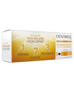 Oenobiol Solaire Intensif Préparateur Peau Normale 3x30 capsules