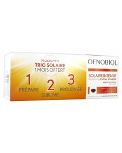 Oenobiol Solaire Capital Jeunesse Capsules 30X3