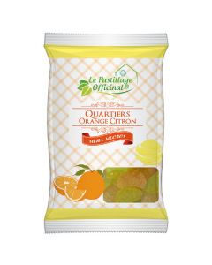 Le Pastillage Officinal Pastilles Orange/citron Sans Sucre 80g